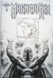 Magneto Rex #1 Dynamic Forces Authentix Edition Signed & Re-marked Brandon Peterson DF COA Ltd 600